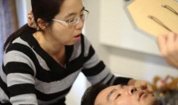 クレニオ出張施術☆気圧の変化による副鼻腔炎!