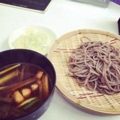 <ADIO賄い>カレー南蛮 つけ蕎麦