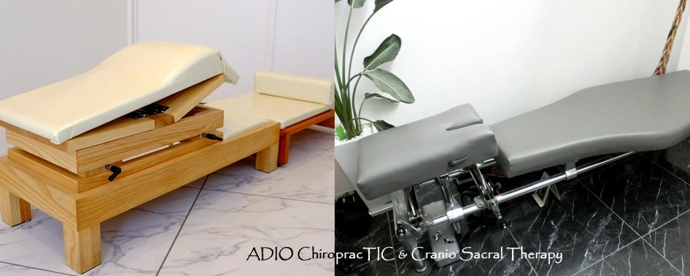 ニーチェストとサイドポスチャーの違い <カイロプラクティック テーブル>