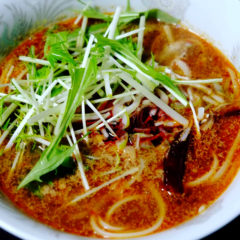 【ADIOまかない】四川麻辣担々麺
