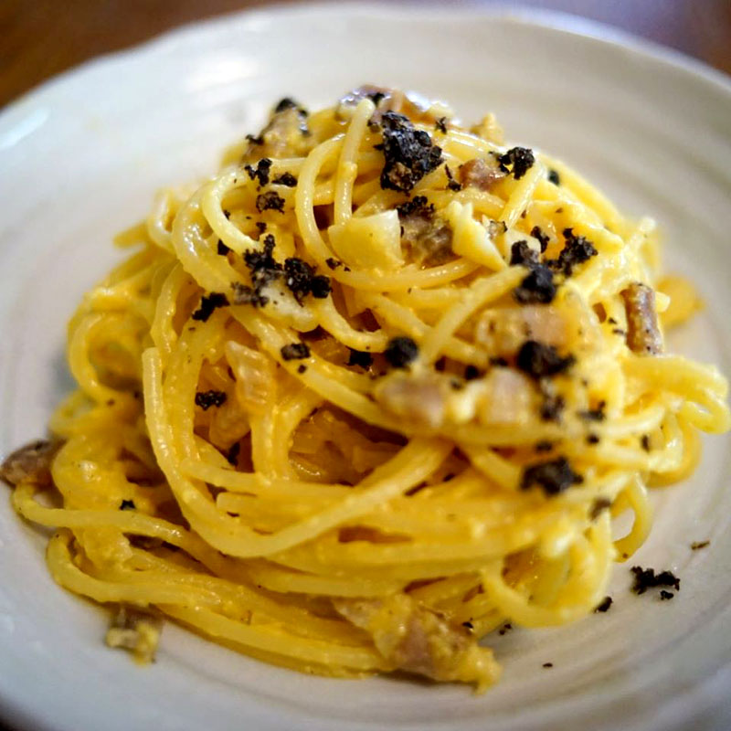 【ADIOまかない】Linguine Carbonara