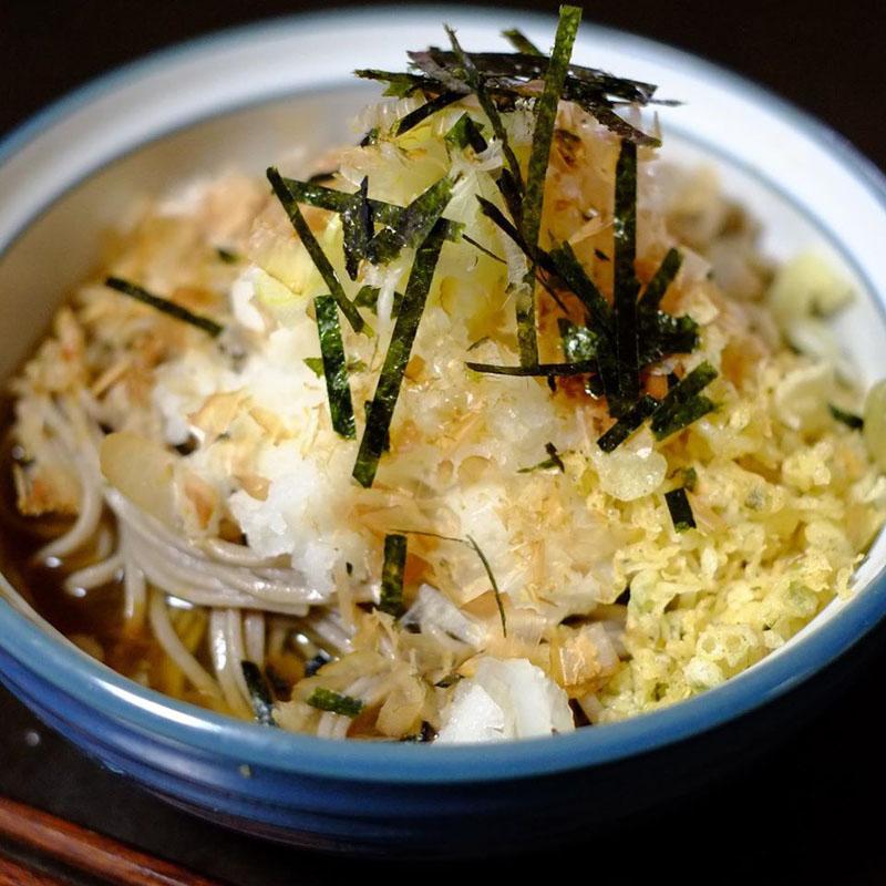【ADIOまかない】辛味大根おろし蕎麦