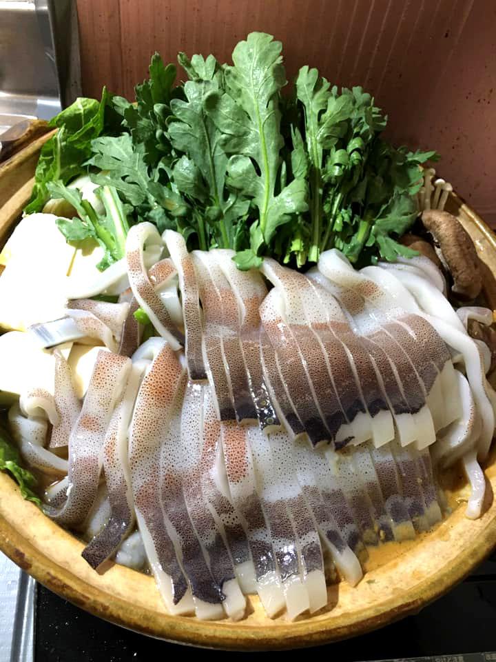 【ADIOまかない】アディオ特製 イカ鍋