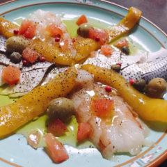 【ADIOまかない】コハダと海老の前菜