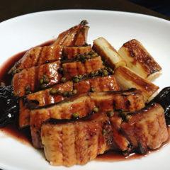 【ADIOまかない】鰻の赤ワイン煮 ロワール風
